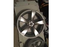 "20"" Audi Rotor Alloys"