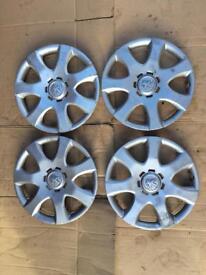 """Peugeot 107 wheel trims X4 SET 14"""""""