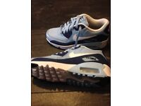 Sky blue nike trainers new size 3