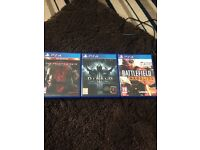 Battlefield hardline MGS phantom pain and Diablo
