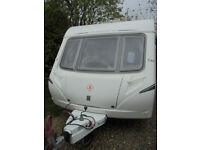 2007 Abbey GTS 2 Berth Touring Caravan With Large Rear Washroom