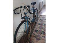Vintage Raleigh Olympus road / racing bike