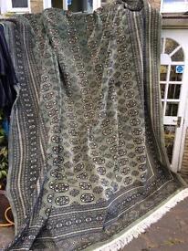REDUCED Massive Pakistani /Wool Green Rug 280w x 390L