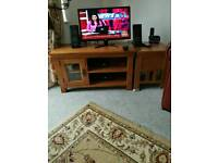 Coffee table,tv stand,side drawer ,console table (oak)