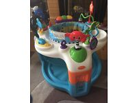Baby Einstein activity saucer sea life theme Entertainer 7 Months plus