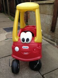 Little tikes cozy coup car