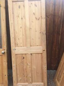 Internal solid wood doors