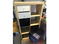 8 x Cube Unit (+ drawers/storage accessories) - IKEA Kubix range