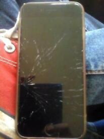 IPhone 6 cracked screen all works fine