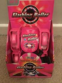 Flashing roller skates/ wheels