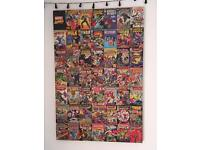 Large marvel canvas