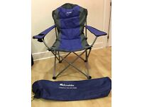 Eurohike Langdale deluxe camping chair