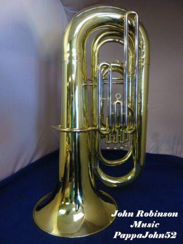 Yamaha Ybb-321 4-valve 4/4 Bbb Tuba W/ Case Fully Restored W/ New Lacquer Finish