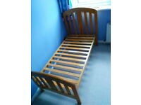 Mama's and Papa's cot/cot bed, wardrobe and chest of drawers for sale