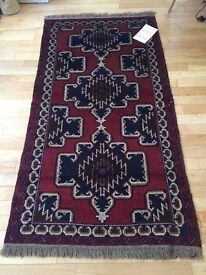 """Afghan Tribal Herat Rug 6.5x3.5"""""""