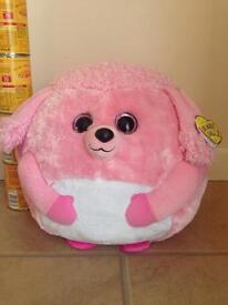 Ty Beanie Ballz large 13 inches called Lovely