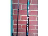 SHAKESPEARE TIDE WATER BEACHCASTER BOAT ROD AS NEW