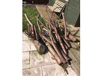 Free Logs fire wood trees