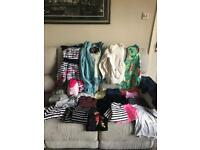 Large bundle of girls clothes. Age 12-13. Excellent condition.