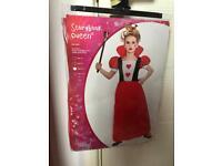Queen of Hearts Alice in Wonderland Costume