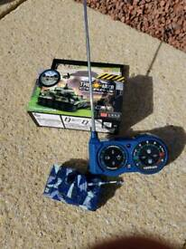 Remote controlled tank