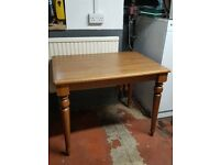 Small wooden kitchen table - VGC