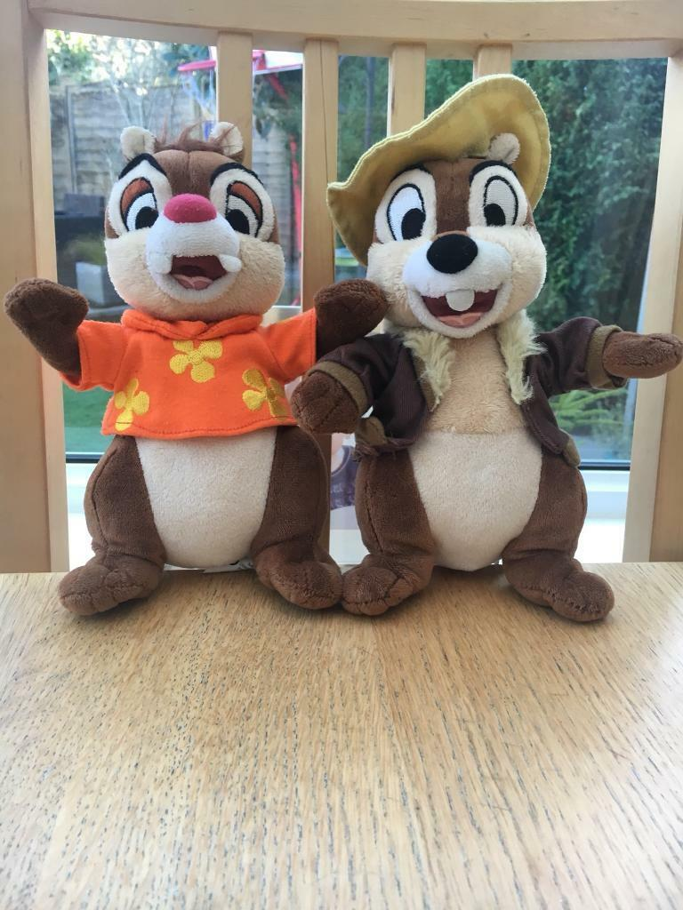 Chip N Dale Soft Toys In Excellent Clean Condition From A