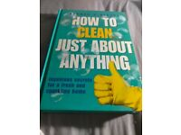 How to clean just about anything hardcover