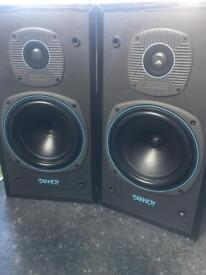 Tannoy E-11 hifi speakers stereo seperates ect great sound music