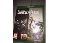 Xbox One game. Tom Clancy, Rainbow Six Siege: