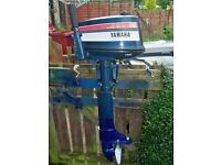 OUTBOARD YAMAHA 4HP LONG SHAFT