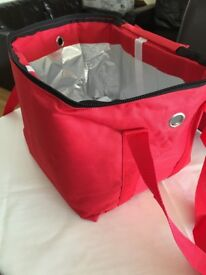 Hot Food Delivery Bag Fully Insulated-Buy from Ebay only £18