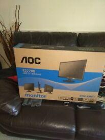 "AOC E2770S 27"" Gaming Monitor"