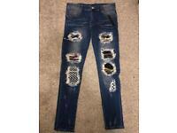 Mens Amiri jeans W32 L32 Skinny fit