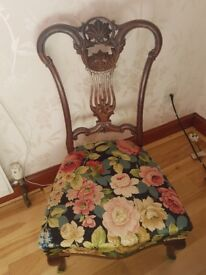 Antique old style nursing chair £40ono