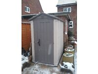 garden shed only used few months