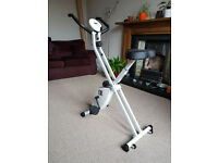 Exercise Bike - Folding Indoor Fitness Bike - Excellent Condition