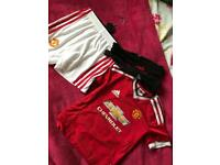 Man U kit 4-5 years