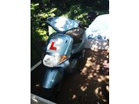 ATLANTIS MOPED 50Ccc **SPARES or REPAIR** BLUE/V5 BUYER COLLECTS