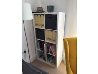 Kallax Shelving Storage Unit - less than a year old