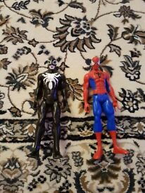 Spider-man and Venom SET