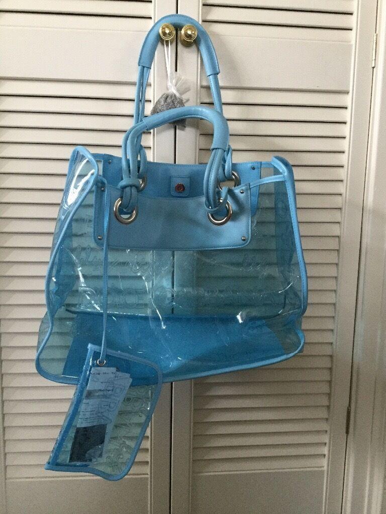 Dolce and Gabbana light blue see through beach bag | in Halifax ...