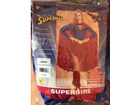 Rubies size 14-16 supergirl costume