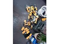 Dewalt 18 volt tools job lot may split