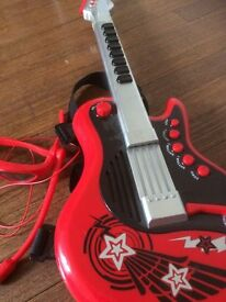 electronic guitar plus other items