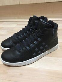 AIR Jordan Black & Grey (Leather) 10.5US / 9.5UK