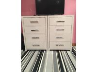 White gloss bedroom furniture for sale
