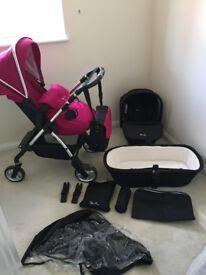 Silver cross wayfarer travel system - simplicity car seat included