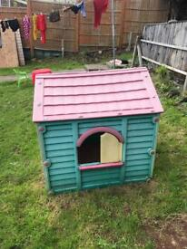 Child's outdoor house