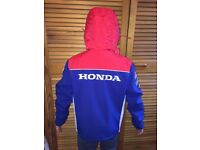 Kids Honda soft shell jacket - age 7-8.